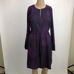 LOFT Dress Size 2 Long Sleeves